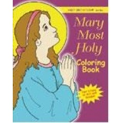 Mary Most Holy Colouring Book