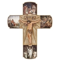 Life Of Christ 12 inch Crucifix
