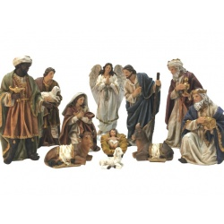 Nativity set 200mm - canvas
